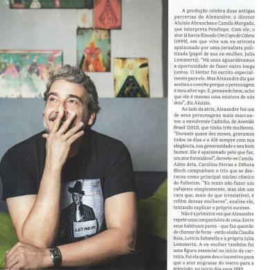 Entrevista Revista Azul - Alexandre Borges