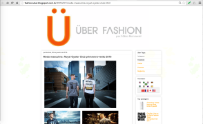 Matéria UberFashion